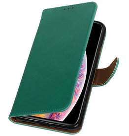Pull Up Bookstyle for iPhone XS Max Green