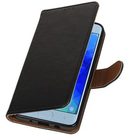 Pull Up Bookstyle for Samsung Galaxy J4 2018 Black