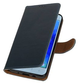 Pull Up Bookstyle for Samsung Galaxy J4 2018 Blue