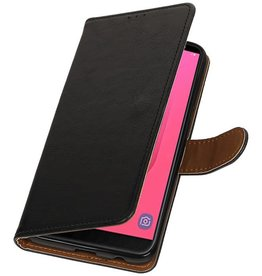 Pull Up Bookstyle for Samsung Galaxy J8 Black