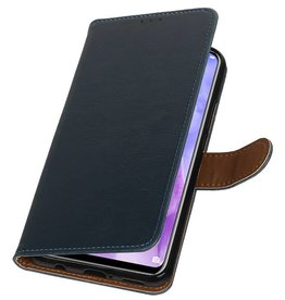 Pull Up Bookstyle für Huawei Nova 3 Blue