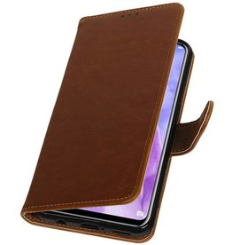 Pull Up Bookstyle for Huawei Nova 3 Brown