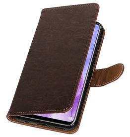 Pull Up Bookstyle for Huawei Nova 3 Mocca
