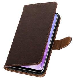 Pull Up Bookstyle für Huawei Nova 3 Mocca