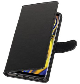 Pull Up Bookstyle for Samsung Galaxy Note 9 Black