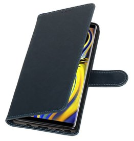 Pull Up Bookstyle for Samsung Galaxy Note 9 Blue