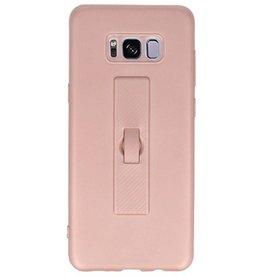 Carbon series hoesje Samsung Galaxy S8 Plus Roze