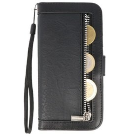Luxury Wallet Phone Case for iPhone XS Max Black