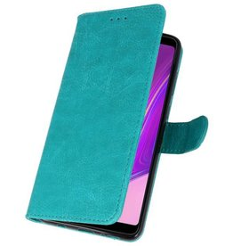Bookstyle Wallet Cases Case for Galaxy A9 2018 Green