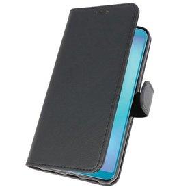 Bookstyle Wallet Cases Hülle für Galaxy A6s Schwarz