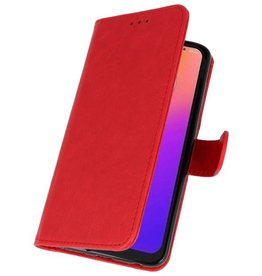 Bookstyle Wallet Cases Case for Moto G7 Red