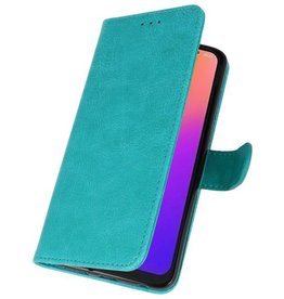 Bookstyle Wallet Cases Case for Moto G7 Green