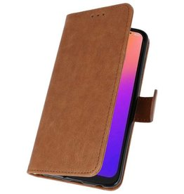 Bookstyle Wallet Cases Case for Moto G7 Brown
