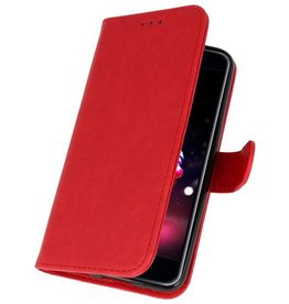 Bookstyle Wallet Cases Case for LG K11 Red