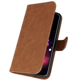 Bookstyle Wallet Cases Case for LG K11 Brown