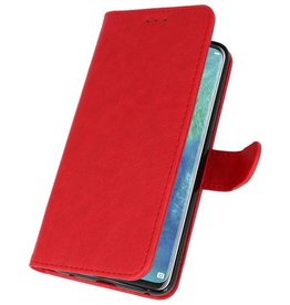 Bookstyle Wallet Cases Case for Huawei Mate 20 Pro Red