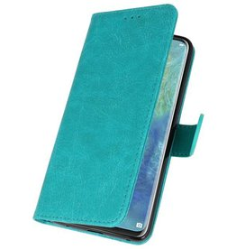Bookstyle Wallet Cases für Huawei Mate 20 Pro Grün