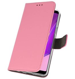 Wallet Cases Case for Samsung Galaxy A9 2018 Pink