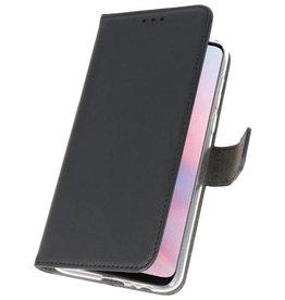 Wallet Cases Hoesje voor Huawei Y9 2019 Zwart