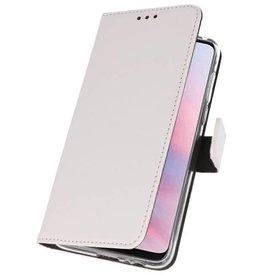Wallet Cases Case für Huawei Y9 2019 Weiß