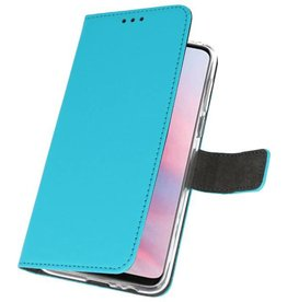 Wallet Cases Case für Huawei Y9 2019 Blau