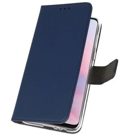 Wallet Cases Hülle für Huawei Y9 2019 Navy