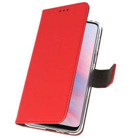 Wallet Cases Case for Huawei Y9 2019 Red