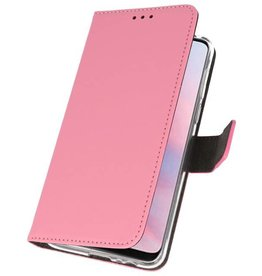 Wallet Cases Case for Huawei Y9 2019 Pink