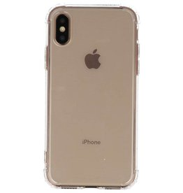 Shockproof TPU case for iPhone XS Transparent