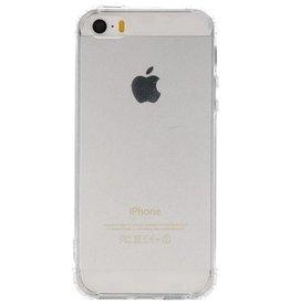 Schokbestendig TPU hoesje voor iPhone 5 Transparant met verpakking