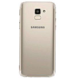 Shock resistant transparent TPU case for Galaxy J6
