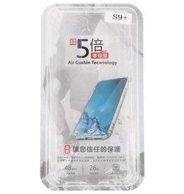 Schokbestendig TPU hoesje voor Galaxy S9 Plus Transparant met verpakking