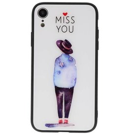 Print Hardcase for iPhone XR Miss You