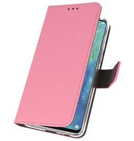 Wallet Cases Hülle für Huawei Mate 20 X Pink