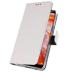 Wallet Cases Case for Nokia 3.1 Plus White