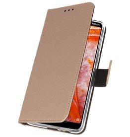 Wallet Cases Case for Nokia 3.1 Plus Gold