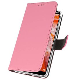 Wallet Cases Case for Nokia 3.1 Plus Pink