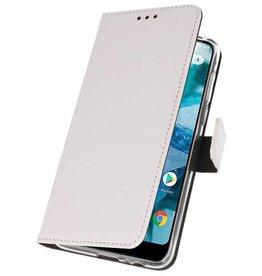 Wallet Cases Case for Nokia 7.1 White