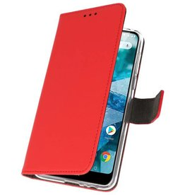 Wallet Cases Case for Nokia 7.1 Red