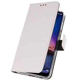 Wallet Cases Case for XiaoMi Redmi Note 6 Pro White