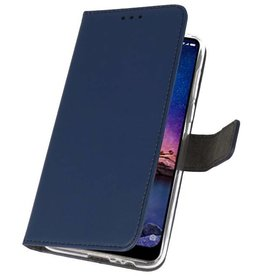 Wallet Cases for XiaoMi Redmi Note 6 Pro Navy