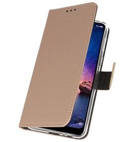 Wallet Cases for XiaoMi Redmi Note 6 Pro Gold