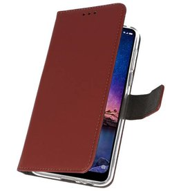 Wallet Cases Case for XiaoMi Redmi Note 6 Pro Brown