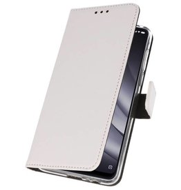 Wallet Cases for XiaoMi Mi 8 Lite White