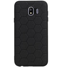 Hexagon Hard Case für Samsung Galaxy J4 Schwarz