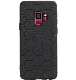 Hexagon Hard Case für Samsung Galaxy S9 Schwarz
