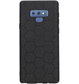 Hexagon Hard Case für Samsung Galaxy Note 9 Schwarz