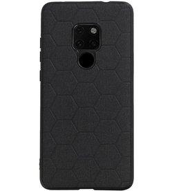 Hexagon Hard Case voor Huawei Mate 20 Zwart