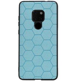 Hexagon Hard Case voor Huawei Mate 20 Blauw