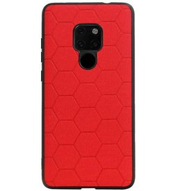 Hexagon Hard Case for Huawei Mate 20 Red